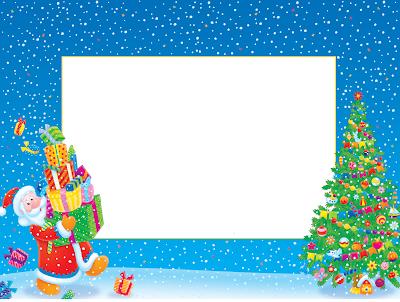 Porta retratos navideños Christmas frame
