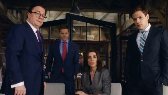 The Good Wife S05E22. A Weird Year.