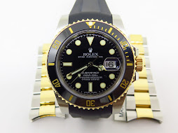 ROLEX SUBMARINER DATE CERAMIC BLACK DIAL TWO TONE - ROLEX 116613LN - SERIAL RANDOM 2011 - FULLSET