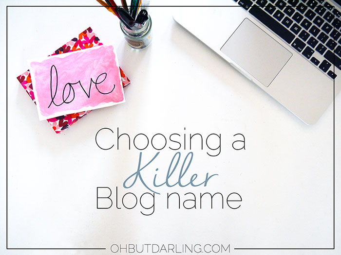 Choosing a blog name , blog , blogger , name , blog name,