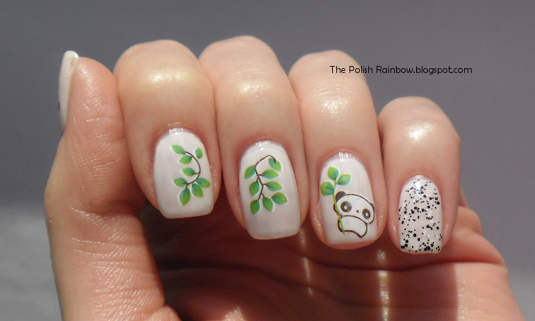 The Polish Rainbow: Panda Nails - KKCenterHk Review