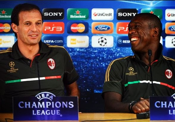 Clarence Seedorf coached AC Milan up to 2016