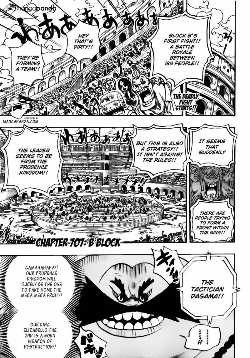 One Piece - B Block - 2