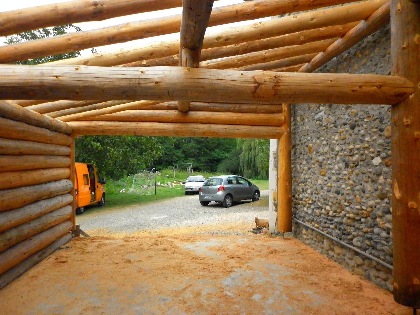 Réalisations ~ Rondins Pyrénées  Constructions en fuste  Elagage  ~ Banc En Rondin De Bois