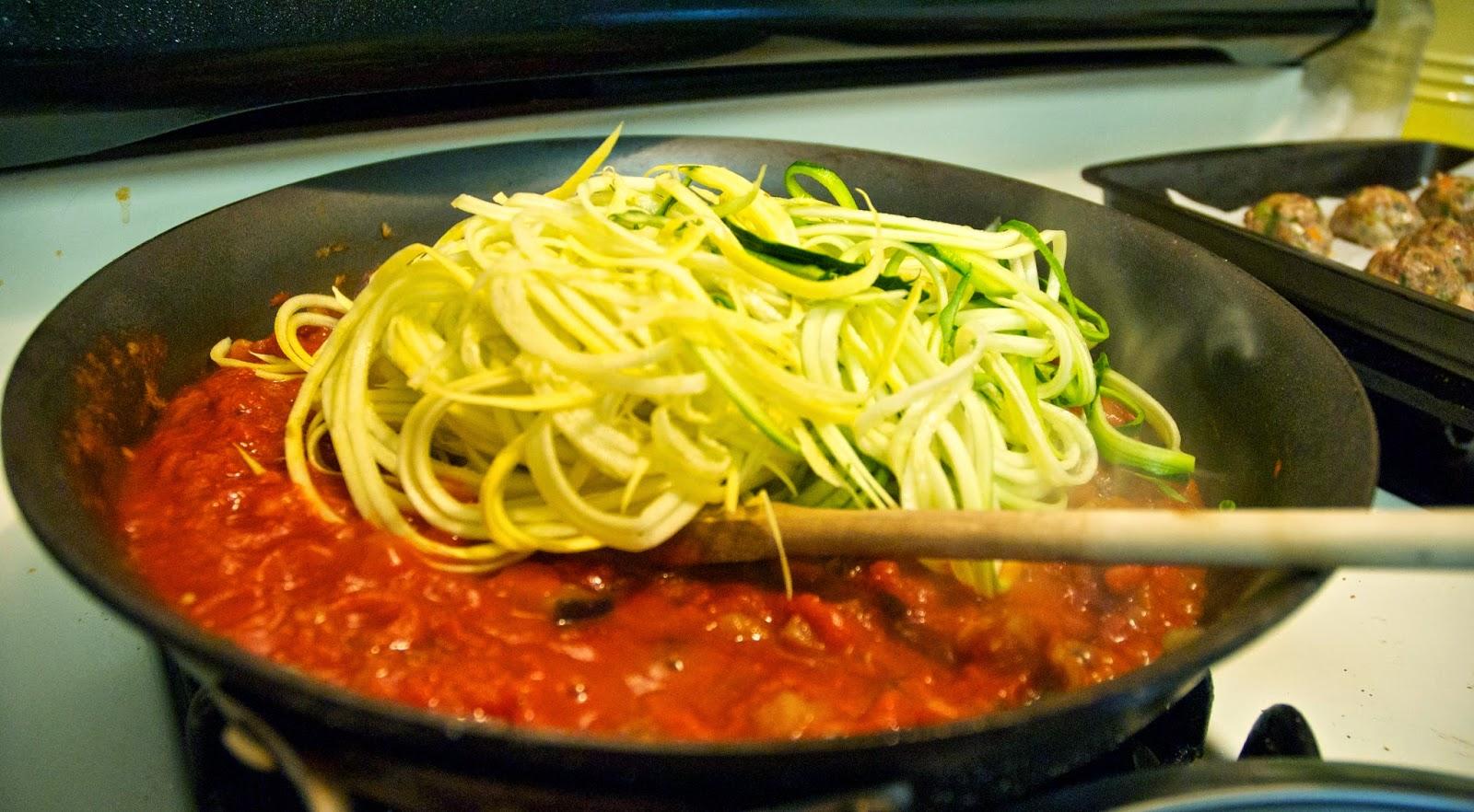 Paleo noodle recipe