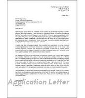 Contoh format surat lamaran kerja Bank