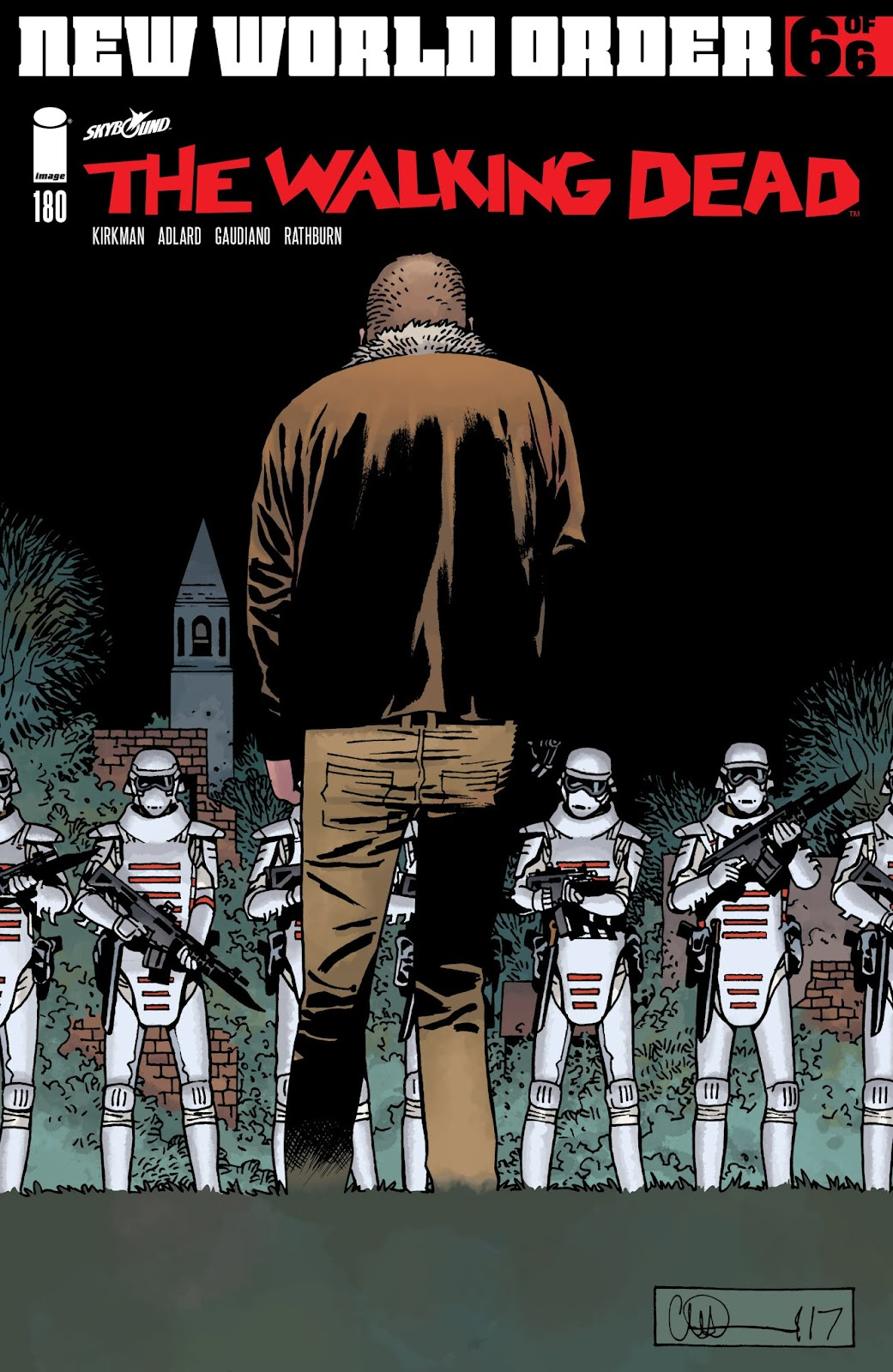 The Walking Dead issue 180 - Page 1