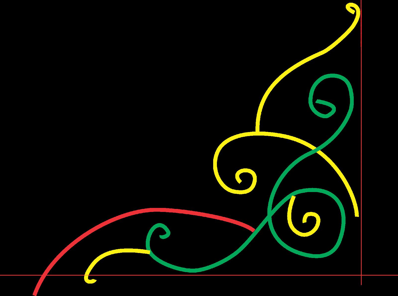 CARA MEMBUAT ORNAMEN/HIASAN PINGGIR KALIGRAFI - Suryalaya