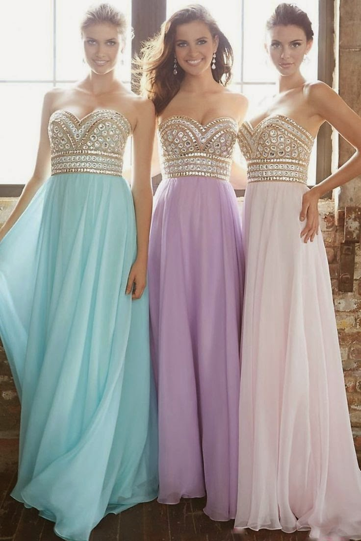 White Dresses for Prom 2015, Upstage Anyone on Prom Night ...
