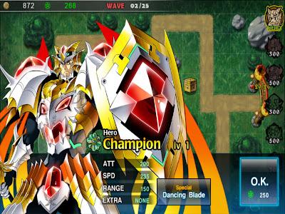 Fantasy Defense HD - ฮีโร่มาแล้ว