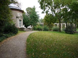 Tempel der Botanik im Schwetzinger Schlossgarten