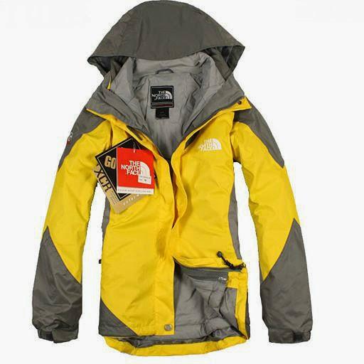 material de chaquetas north face