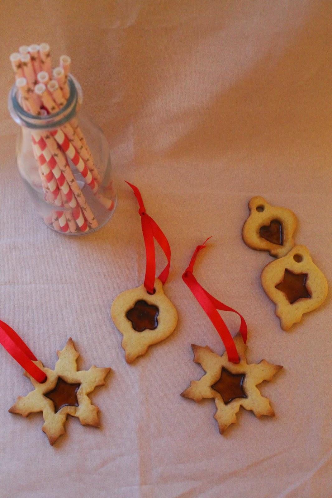 #christmasgift - biscotto di frolla ad effetto vetro