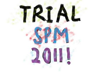 Sedang cari soalan percubaan SPM 2011. Klik di SINI .