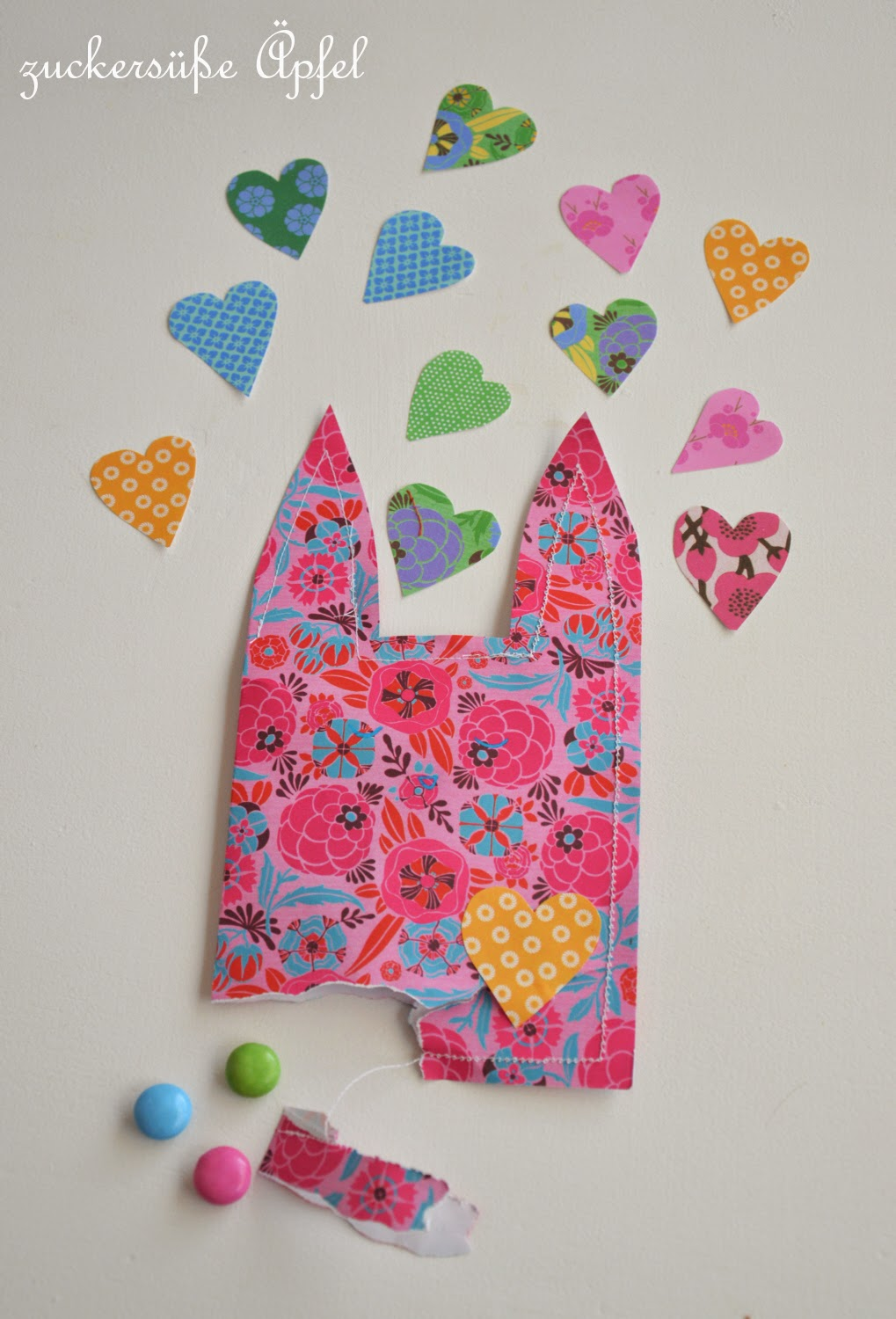 Candy Bunny Bag...DIY