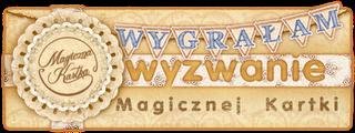 Wygrałam w Magicznej Kartce