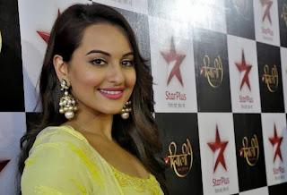 Sonakshi Sinha Photoshoot for Star Plus Diwali Show 2013