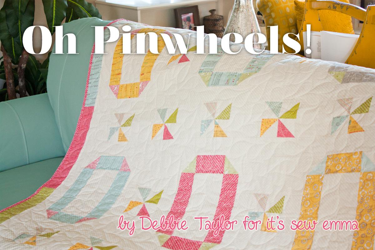 Oh pinwheels lap quilt 171 moda bake shop