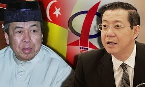 Lim Guan Eng Dan Sultan Selangor