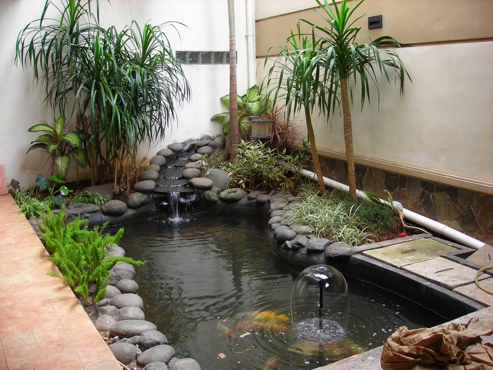Desain Rumah Minimalis: Desain Taman Mungil Dalam Rumah