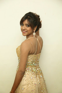 Vithika Sheru in lovely Golden Deep Neck Gown Spicy Stills Must see