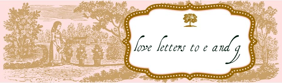 love letters to e and g
