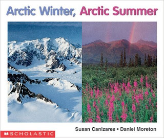 http://www.amazon.com/Arctic-Winter-Science-Emergent-Readers/dp/059076151X/ref=sr_1_1?ie=UTF8&qid=1443032471&sr=8-1&keywords=arctic+winter+arctic+summer