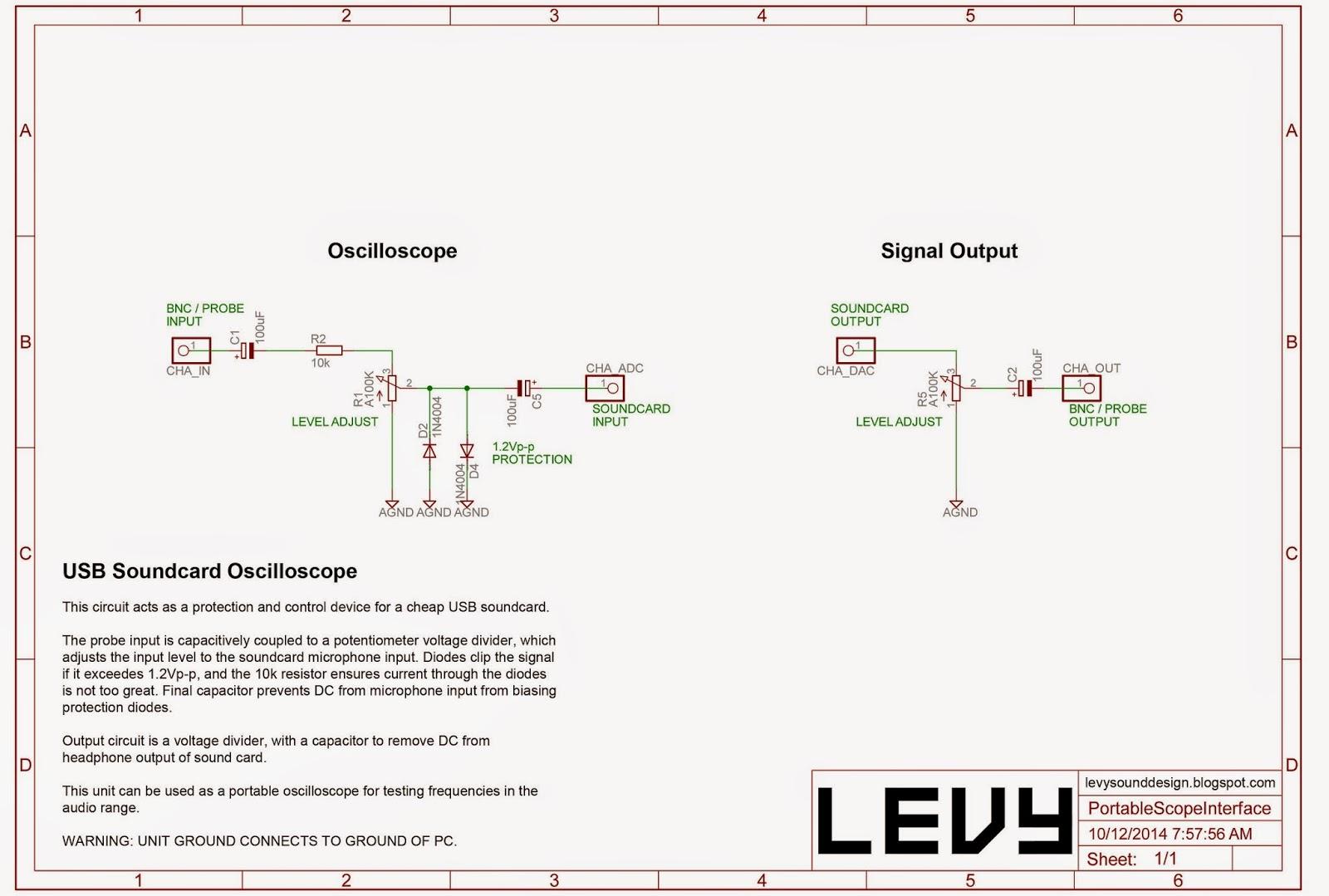Levy Sound Design Usb To 232 Serial Port Circuit Diagram Amplifiercircuit