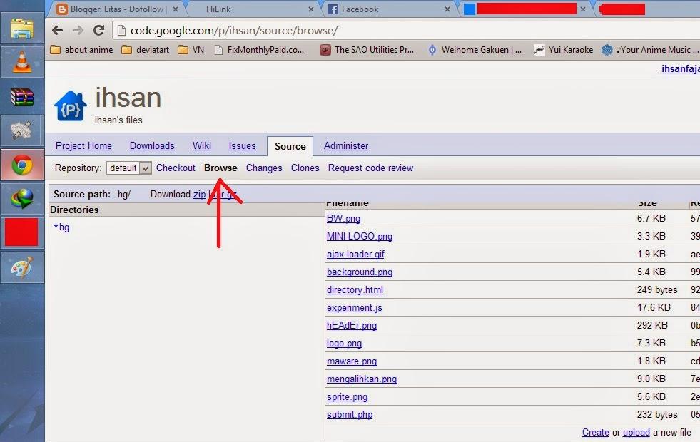 cara upload file ke google code menggunakan browser Gambar2