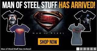 Click here to purchase Man of Steel t-shirts at SuperheroStuff!