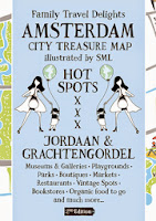 Family Travel Delights Amsterdam City Treasure Map