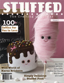 Look for my dolls in Stuffed 2012 Issue