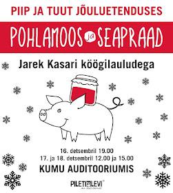 Piip ja Tuut JÕULUETENDUSED Tallinnas ja Helsingis. PILETID MÜÜGIL!
