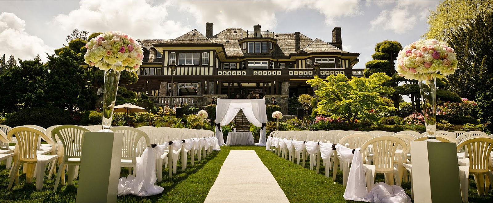 Ubc outdoor wedding