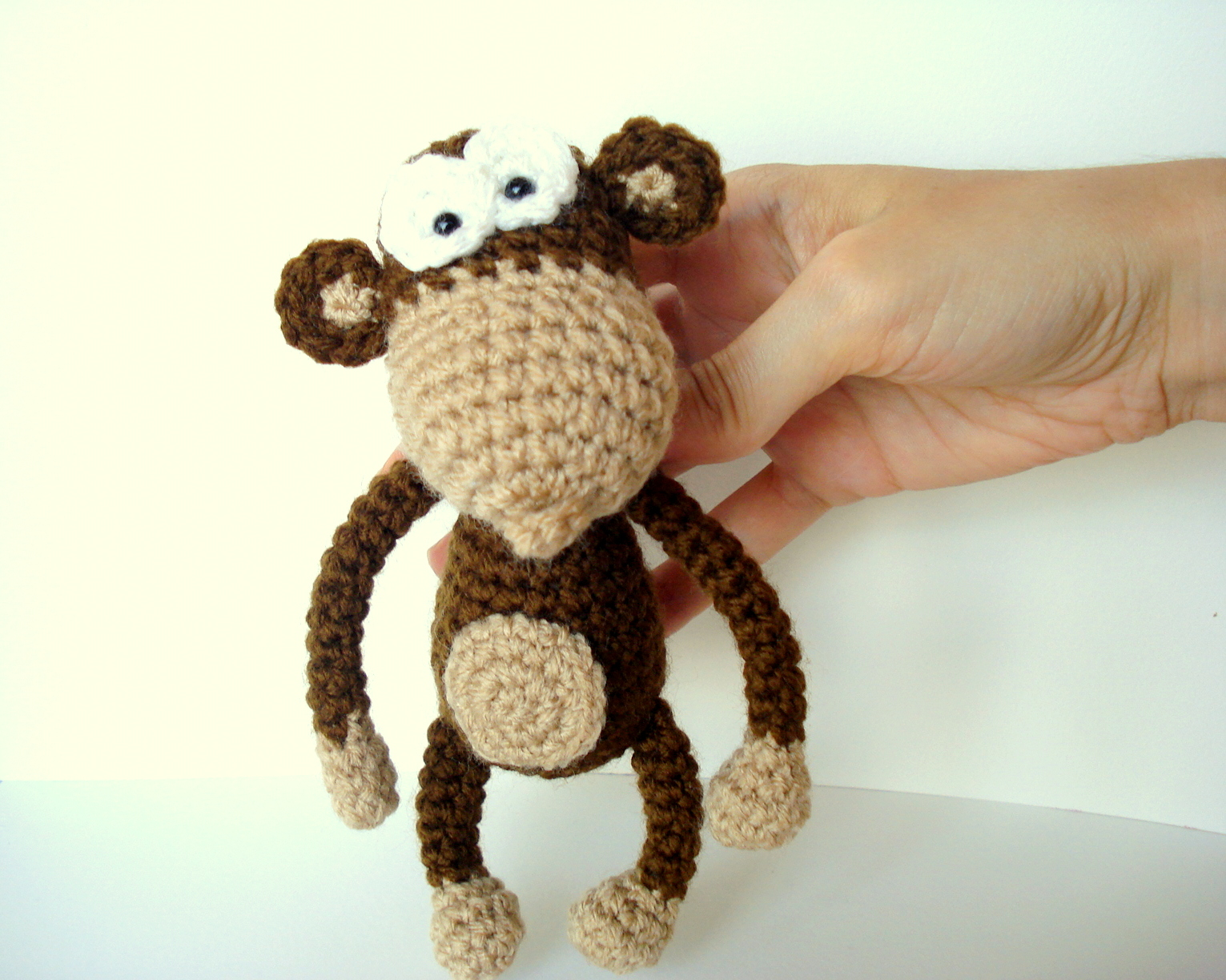 ... : Amigurumi Monkey Pattern, Crocheted Monkey Pattern with Banana
