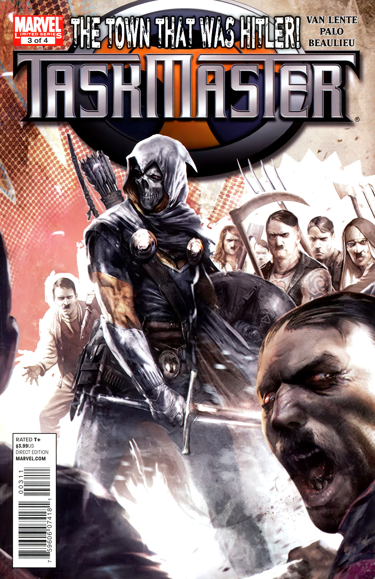 Read online Taskmaster (2010) comic -  Issue #3 - 1