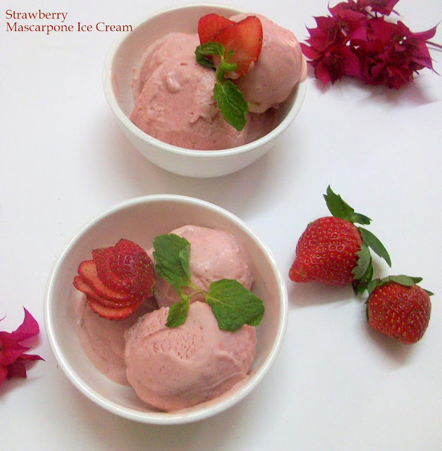 Strawberry-Fennel Ice Cream Recipe — Dishmaps