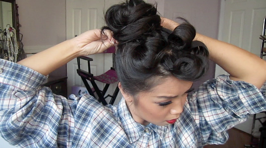 Chola Hairstyle...