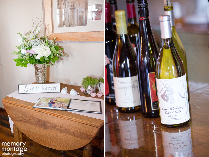 First Presbyterian Yakima and Fontaine Estates Winery Reception in Naches WA