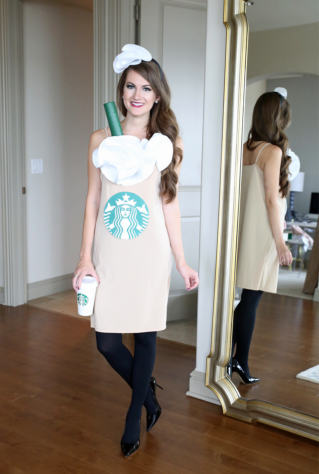 Easy Halloween costume - Starbucks cup!  sc 1 st  Southern Curls u0026 Pearls : starbucks costume ideas  - Germanpascual.Com