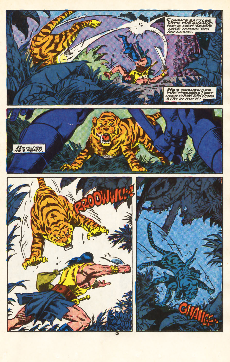 Conan the Barbarian (1970) Issue #213 #225 - English 11