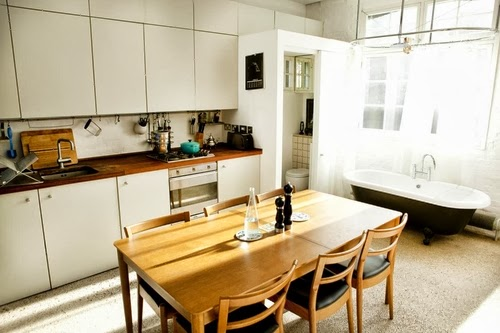 15-1st-Floor-Studio-Mews-Apartment-Camden-London-UK-Skylight-Roof-Terrace-Garden
