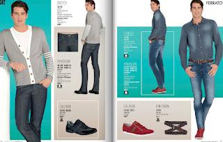 catalogo de ropa para caballeros verano 2015