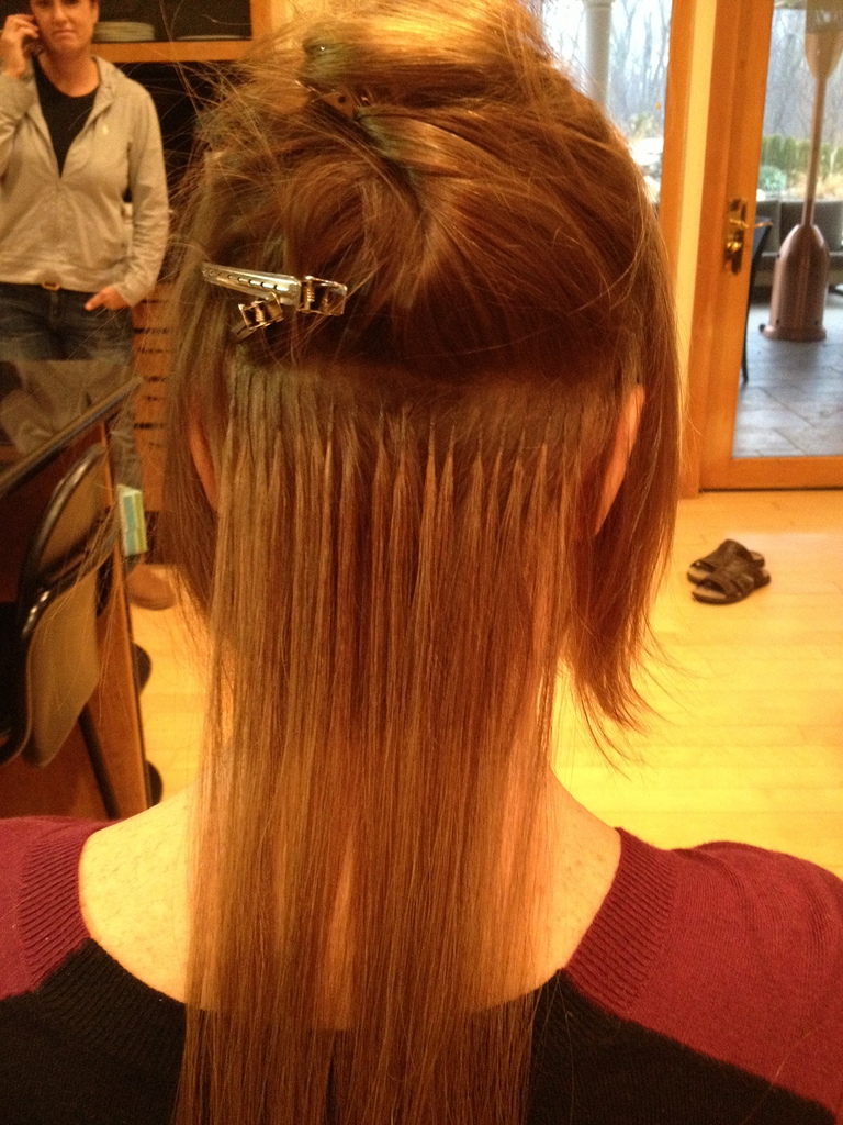 Great Lengths Specialist Tiffany Louise Collura Before During
