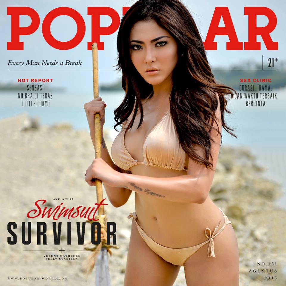 Popular Magazine August 2015 Ayu Aulia