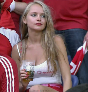euro 2012 hot supporter