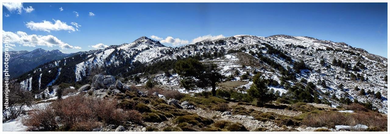 El Gilillo desde la loma de Los Castellones