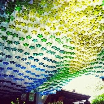 Menyulap Botol Plastik Bekas Menjadi Canopy Mobil yang Indah 6