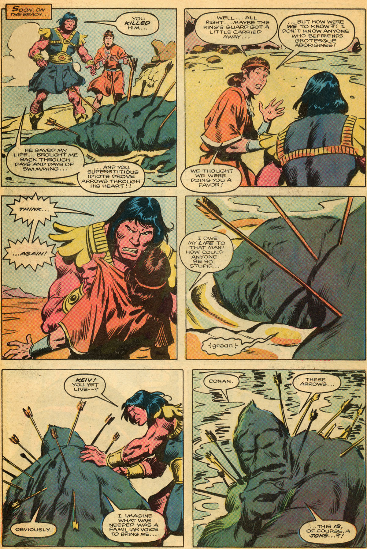 Conan the Barbarian (1970) Issue #179 #191 - English 13