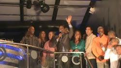 Cabrera celebra el inicio de la navidad con su familia del PLD